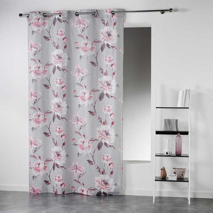rideau esprit floral douceur d interieur la redoute. Black Bedroom Furniture Sets. Home Design Ideas