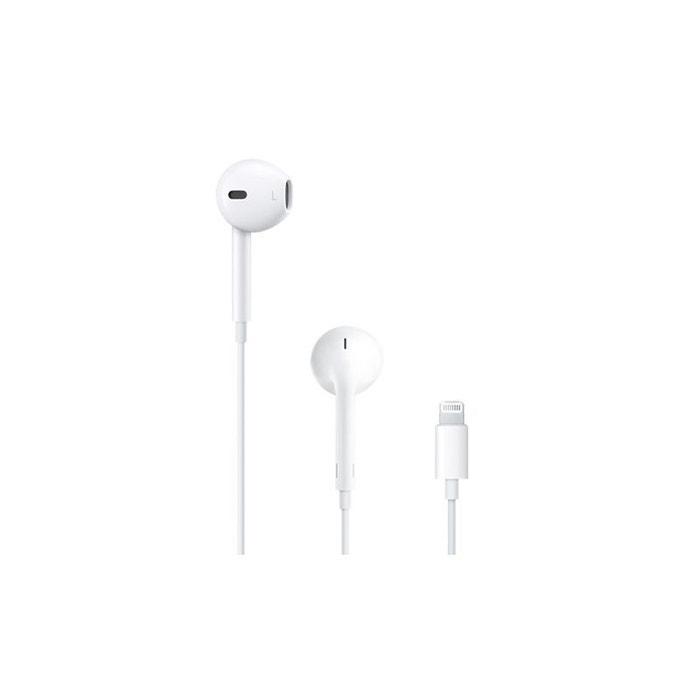 couteurs iphone 7 apple earpods v2 prise lightning blanc apple la redoute. Black Bedroom Furniture Sets. Home Design Ideas