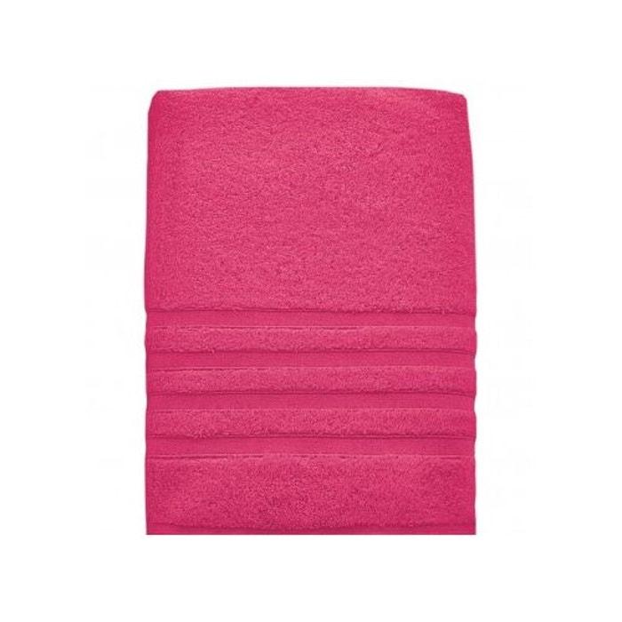 maxi bain 100x150cm 600 gr m coton peign modal sensilk rose indien sensei la maison du coton. Black Bedroom Furniture Sets. Home Design Ideas