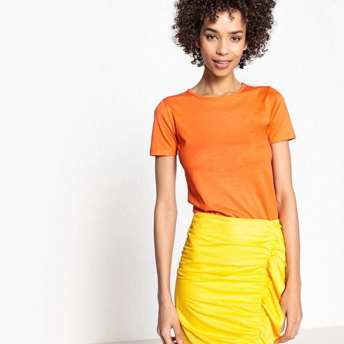 T-shirt scollo rotondo, maniche corte cotone biologico  La Redoute Collections image 0