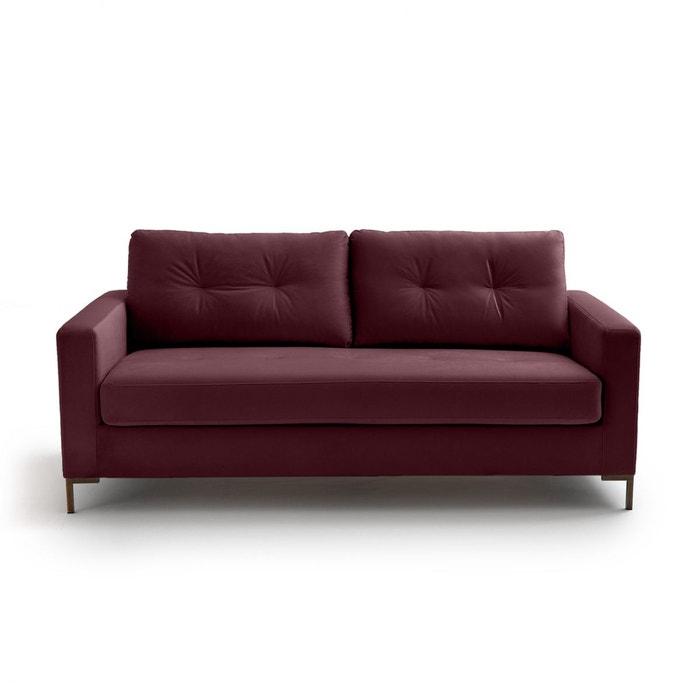 canap fixe velours goldy la redoute interieurs la redoute. Black Bedroom Furniture Sets. Home Design Ideas