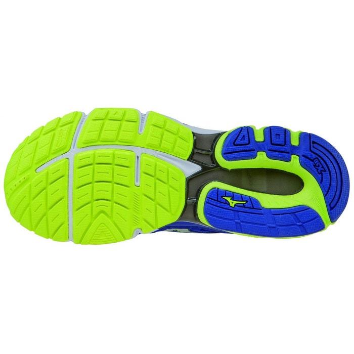Wave inspire 12 - chaussures de running homme - bleu blanc Mizuno