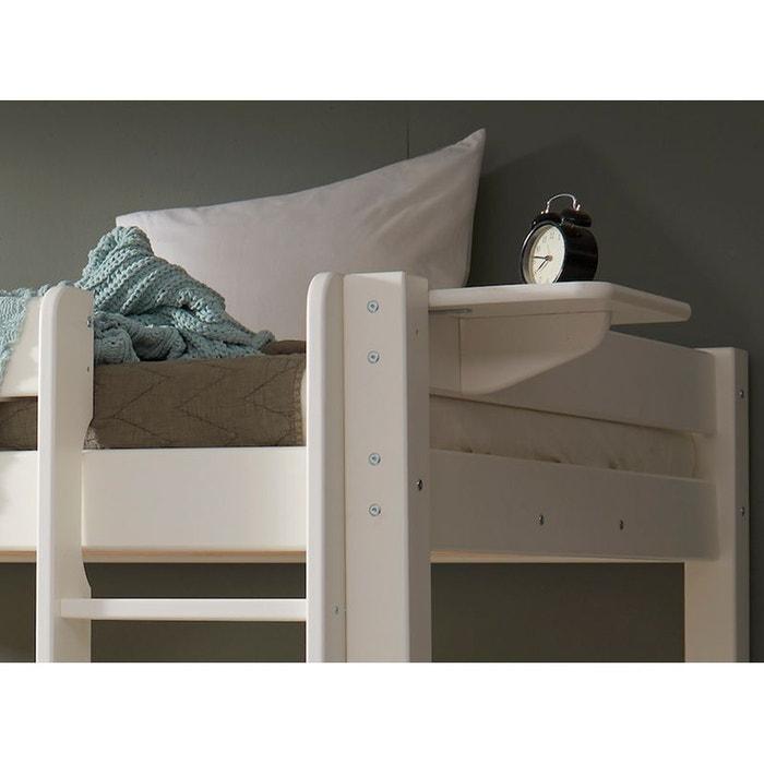 tablette suspendue pour lit haut lilja blanc blanc alfred et compagnie la redoute. Black Bedroom Furniture Sets. Home Design Ideas