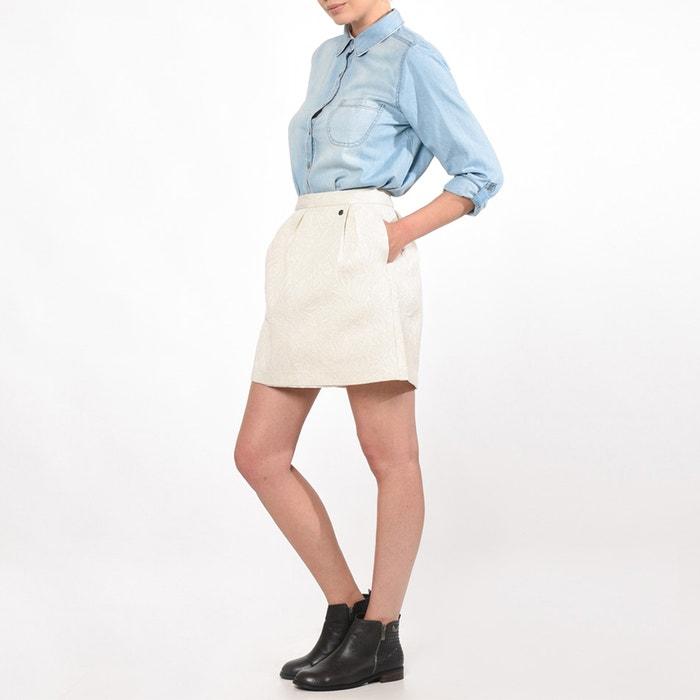 Image CROPS Pleated Short Skirt KAPORAL 5