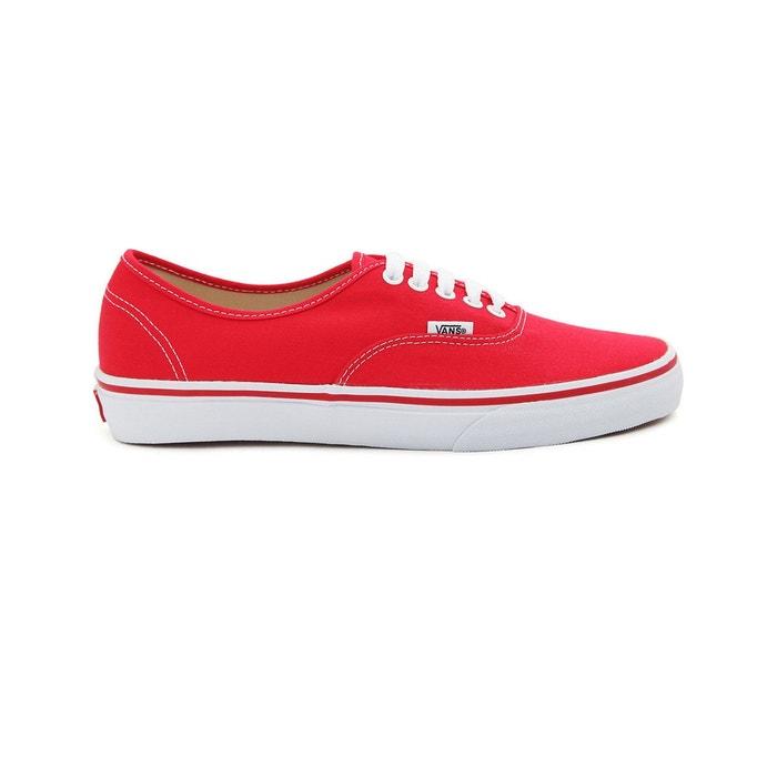 basket femme vans rouge