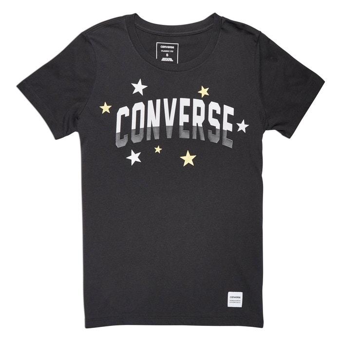 cuello manga de CONVERSE redondo corta Camiseta 1YwH8WqZx