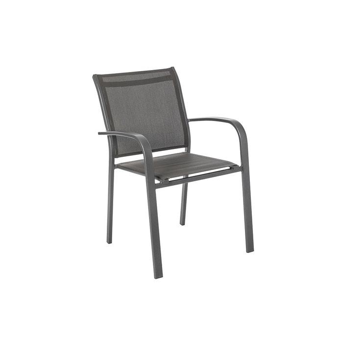 Chaise de jardin empilable alu Essentia