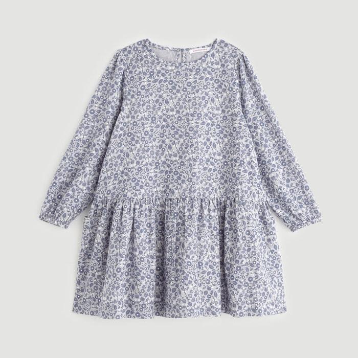 2be5bc4bc0dfd Robe imprimée bleu Monoprix Kids