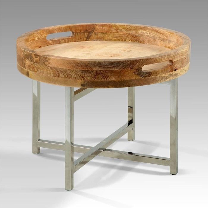 table basse belitung kha home design la redoute. Black Bedroom Furniture Sets. Home Design Ideas