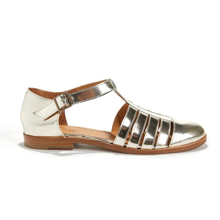 Sandales vernies cuir de chèvre KIM ANTHOLOGY PARIS image 0