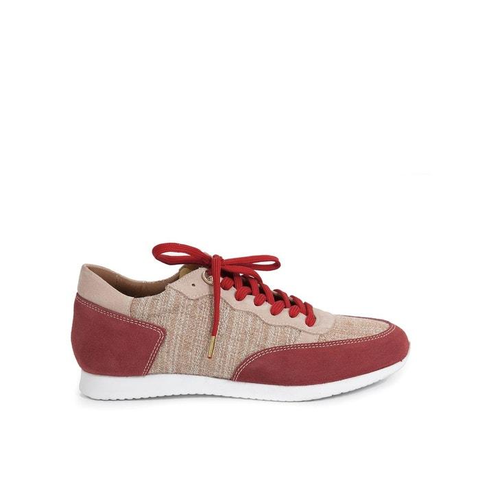 Baskets dolaine rouge Heyraud