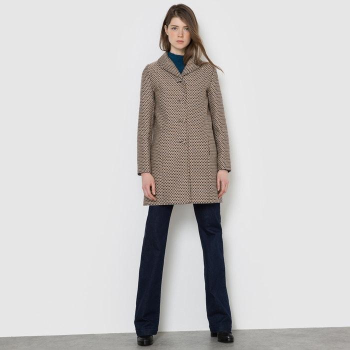 Image Jacquard Coat MADEMOISELLE R