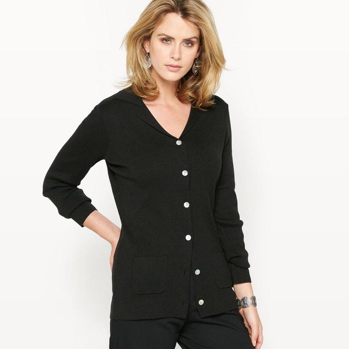 Cardigan-veste, col tailleur  ANNE WEYBURN image 0