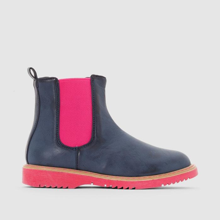 Image Boots semelle colorée R essentiel