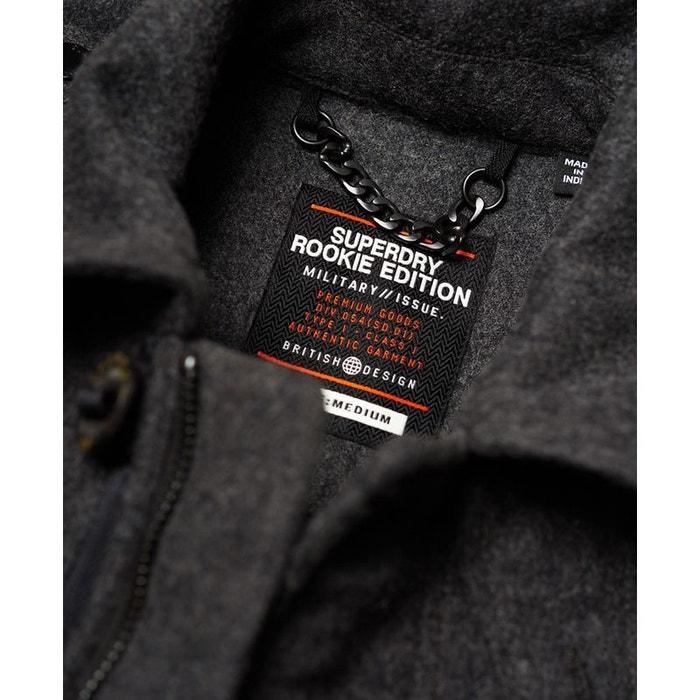 Veste en laine à quatre poches Tito