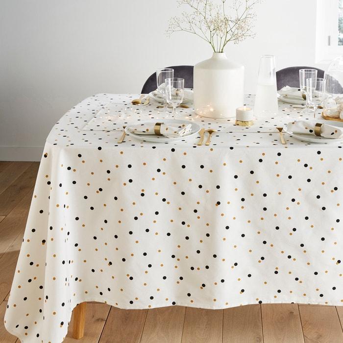 Toalha de mesa estampada com tratamento antinódoas, PERFECT TIME  La Redoute Interieurs image 0