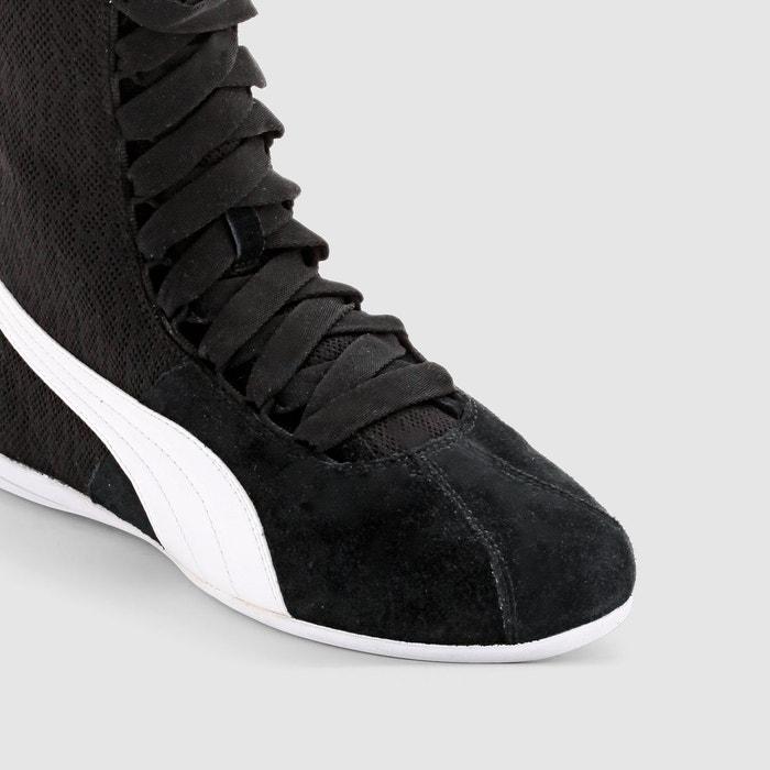 Baskets montantes eskiva hi textur noir Puma