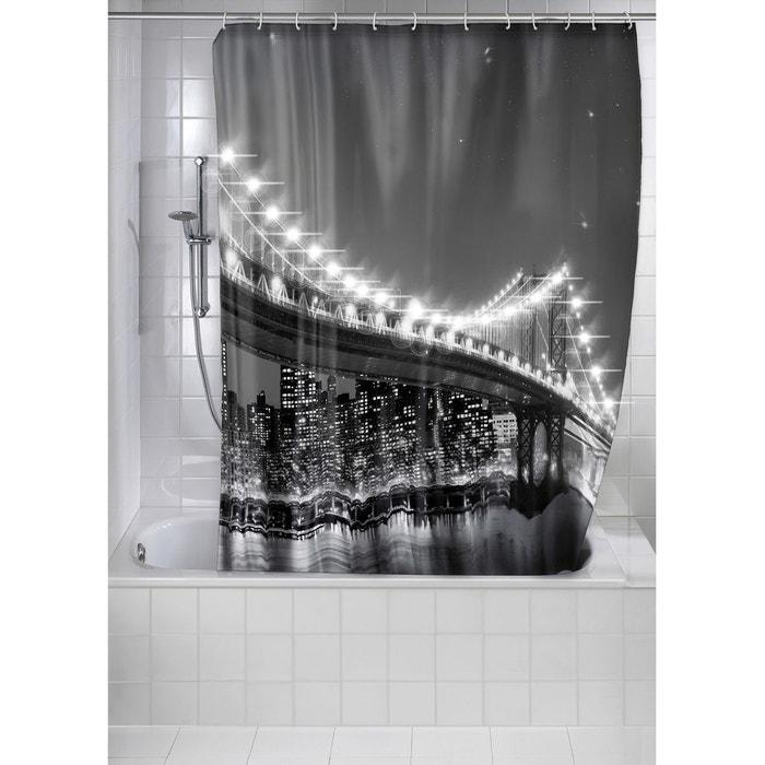 rideau de douche led brooklin bridge multicolore wenko. Black Bedroom Furniture Sets. Home Design Ideas