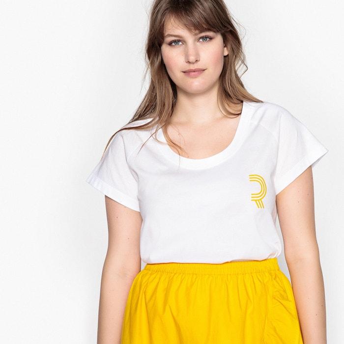 T-shirt logo, tinta unita maniche corte  CASTALUNA image 0