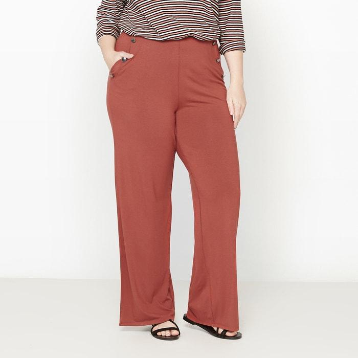 afbeelding Wijde broek in matrozen stijl CASTALUNA