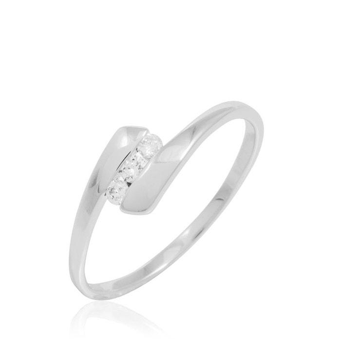 Bague or et diamant blanc Histoire D'or   La Redoute De Gros hzfiEm3
