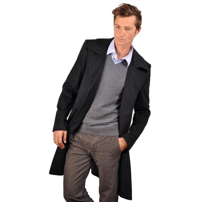 manteau laine et cachemire kalife noir fadanel cashmeres la redoute. Black Bedroom Furniture Sets. Home Design Ideas