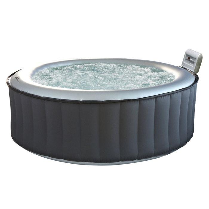 spa gonflable rond 205cm silver cloud 6 places couleur. Black Bedroom Furniture Sets. Home Design Ideas
