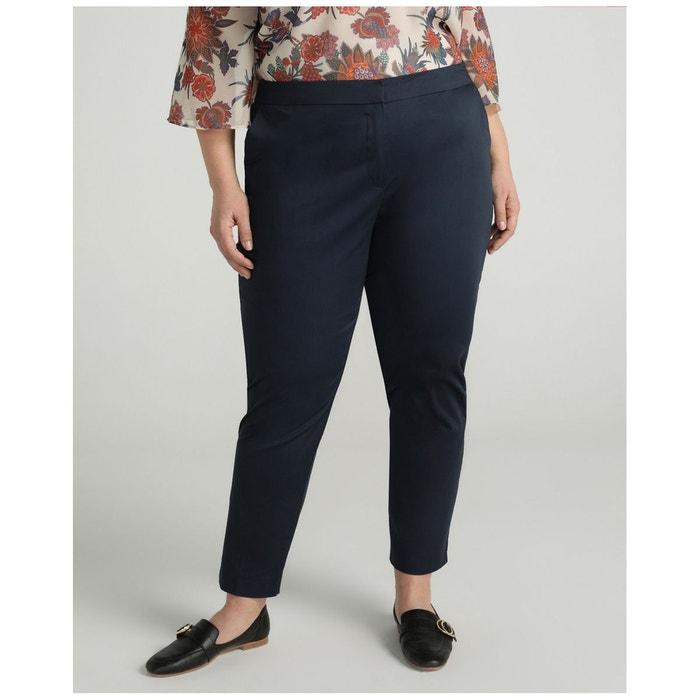 Pantalon semicigarette microimprimé Woman Plus El Corte ...