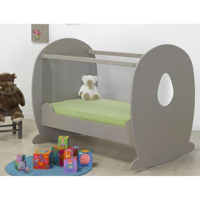 lit b b bascule plexi lin 60x120 lin alfred et compagnie la redoute. Black Bedroom Furniture Sets. Home Design Ideas