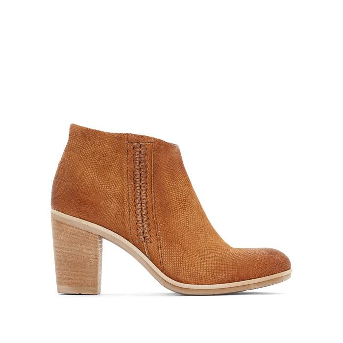 Image Boots cuir à talon Melody MJUS