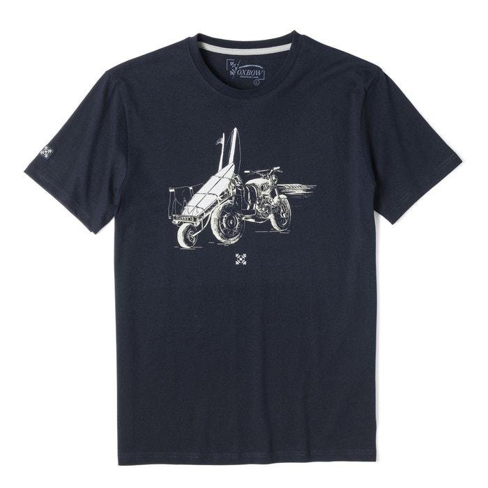 Camiseta con corta OXBOW y cuello manga redondo pwpSOdq