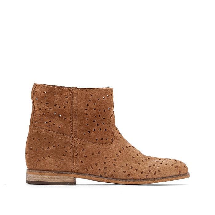 commande DUNE LONDON Boots cuir perforé Enny 12B Vente Pas Cher Bonne Vente Coût Prix Pas Cher Meilleur Achat 100% Garanti c7ePEbTfQ