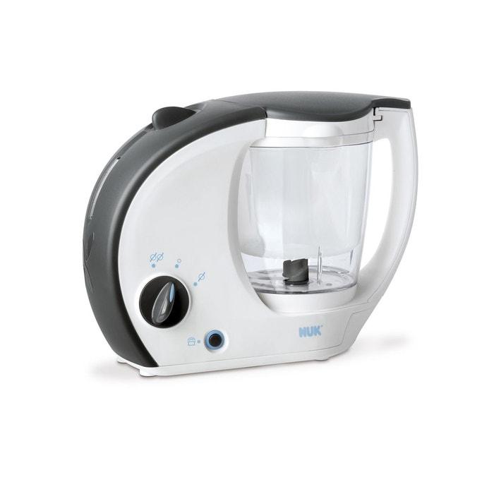 robot cuiseur pour b b 4 en 1 blanc nuk la redoute. Black Bedroom Furniture Sets. Home Design Ideas