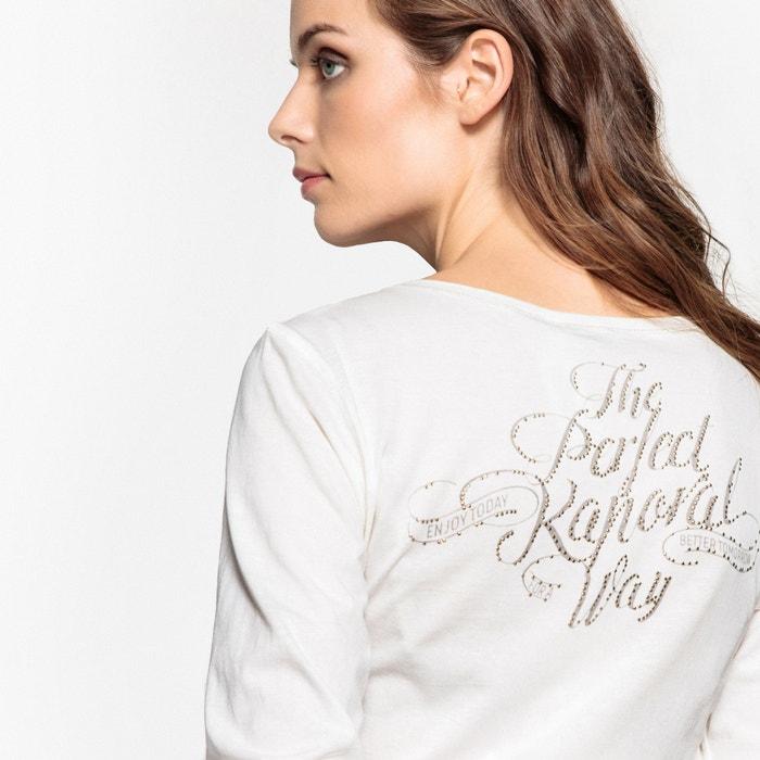 Image Tee shirt col tunisien uni, manches longues KAPORAL 5