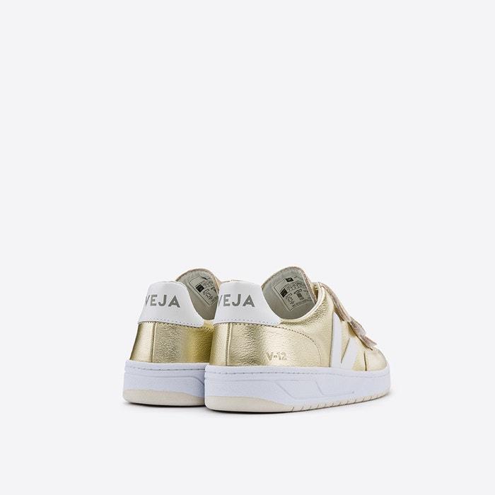 ff7a21e621 Baskets v-12 lock gold white or Veja   La Redoute