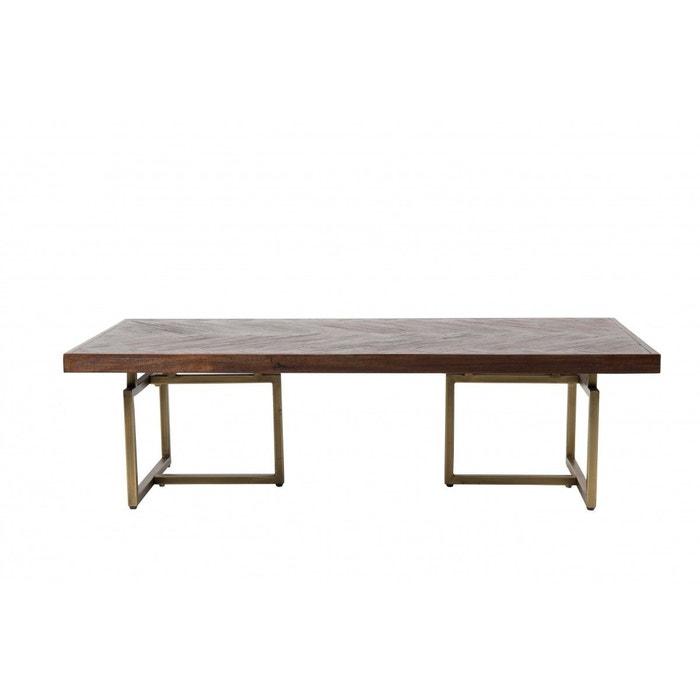 Table basse class marron zuiver la redoute for Table exterieur la redoute