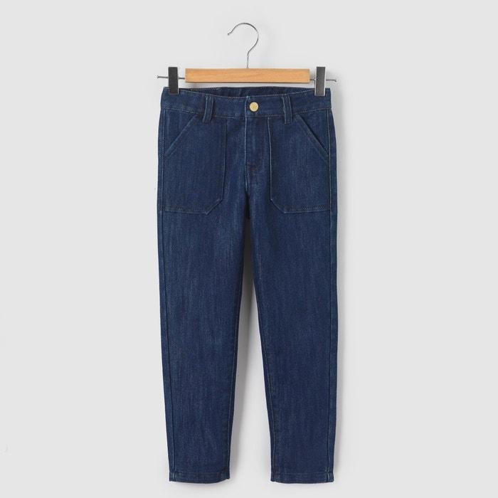 Jeans cargo, 3-12 anos abcd'R