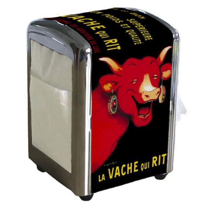 distributeur serviettes la vache qui rit couleur unique editions atlas la redoute. Black Bedroom Furniture Sets. Home Design Ideas