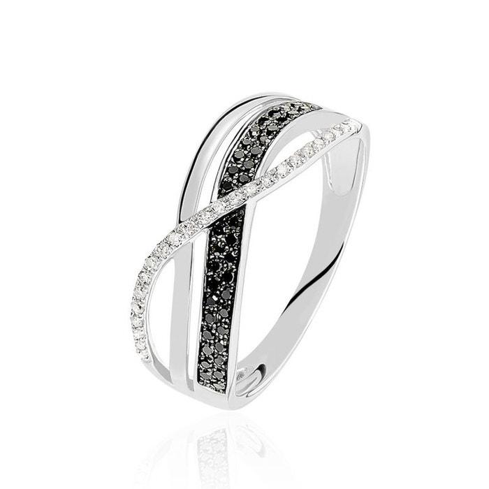 104ae2a54ec Bague Or Blanc Emilie Diamants HISTOIRE D OR image 0