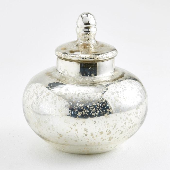 Large Elda Mercurised Glass Sweet Jar