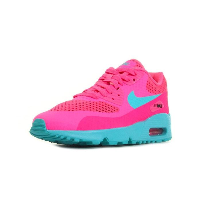 Basket air max 90 br junior rose, bleu clair Nike