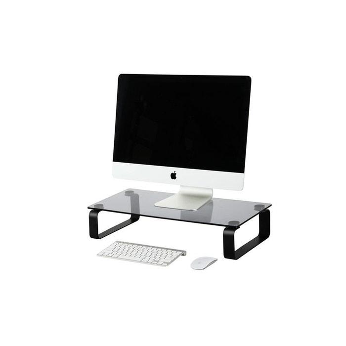 itab black tablette r hausseur pour crans jusqu 39 32 39 39 80cm couleur unique inotek la redoute. Black Bedroom Furniture Sets. Home Design Ideas