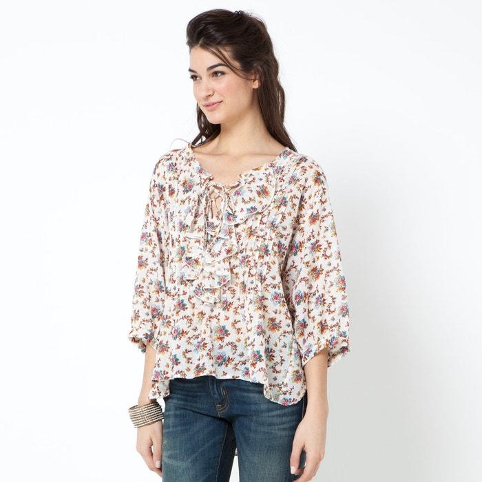 Блузка с рукавом 3 4 с доставкой