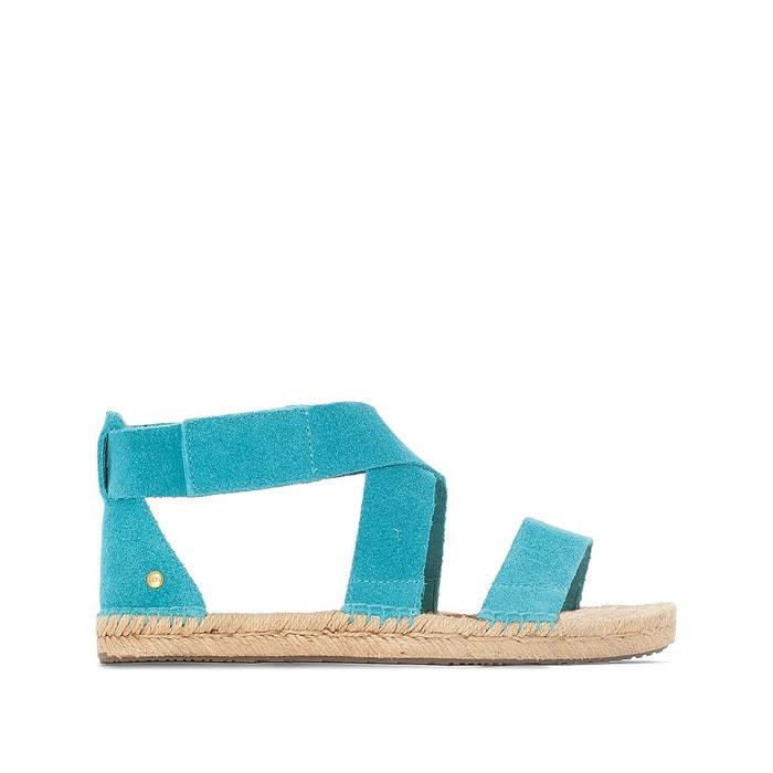 Sandales cuir w mila turquoise Ugg