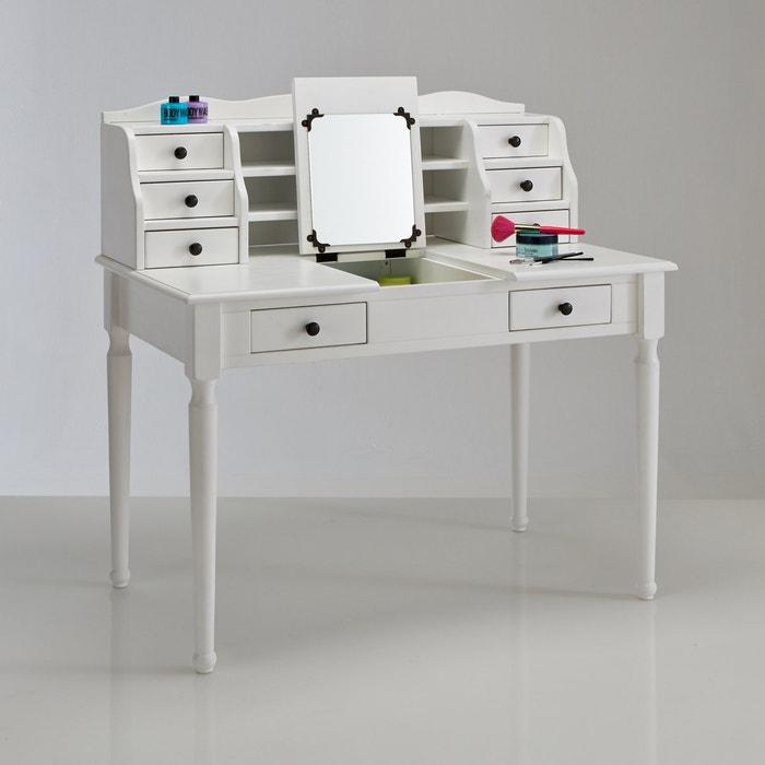 coiffeuse authentic style la redoute interieurs blanc la redoute. Black Bedroom Furniture Sets. Home Design Ideas