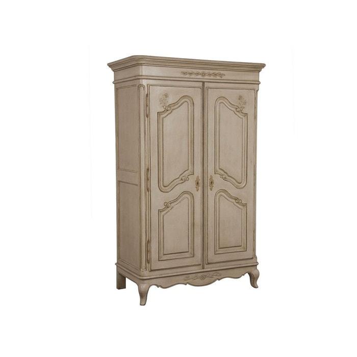 armoire 2 portes beige fonc interior s la redoute. Black Bedroom Furniture Sets. Home Design Ideas