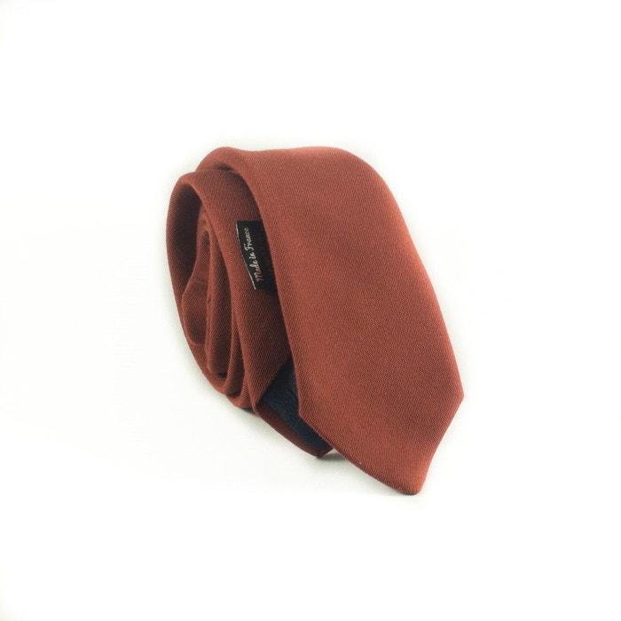 Cravate moderne coton couleur rouille cuivre Yikes Ties | La Redoute Édition Limitée À Vendre Réductions De Prix Pas Cher awW82