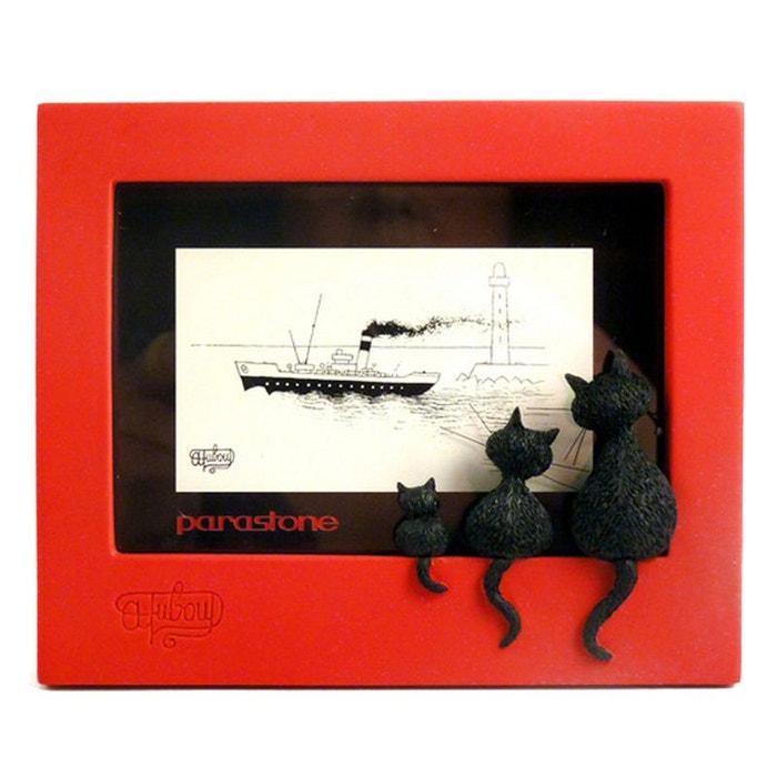 cadre photo poser en r sine chats par dubout parasidose la redoute. Black Bedroom Furniture Sets. Home Design Ideas