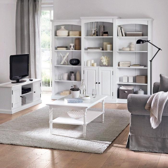 La redoute interieurs banc tv pin massif authentic style - La redoute meubles authentic style ...