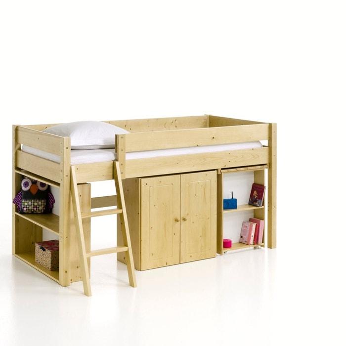 Image Jon Solid Pine Children's Cabin Bed La Redoute Interieurs